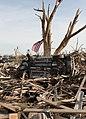 A U.S. flag flies in Moore, Okla., May 25, 2013 130525-Z-KJ752-990.jpg