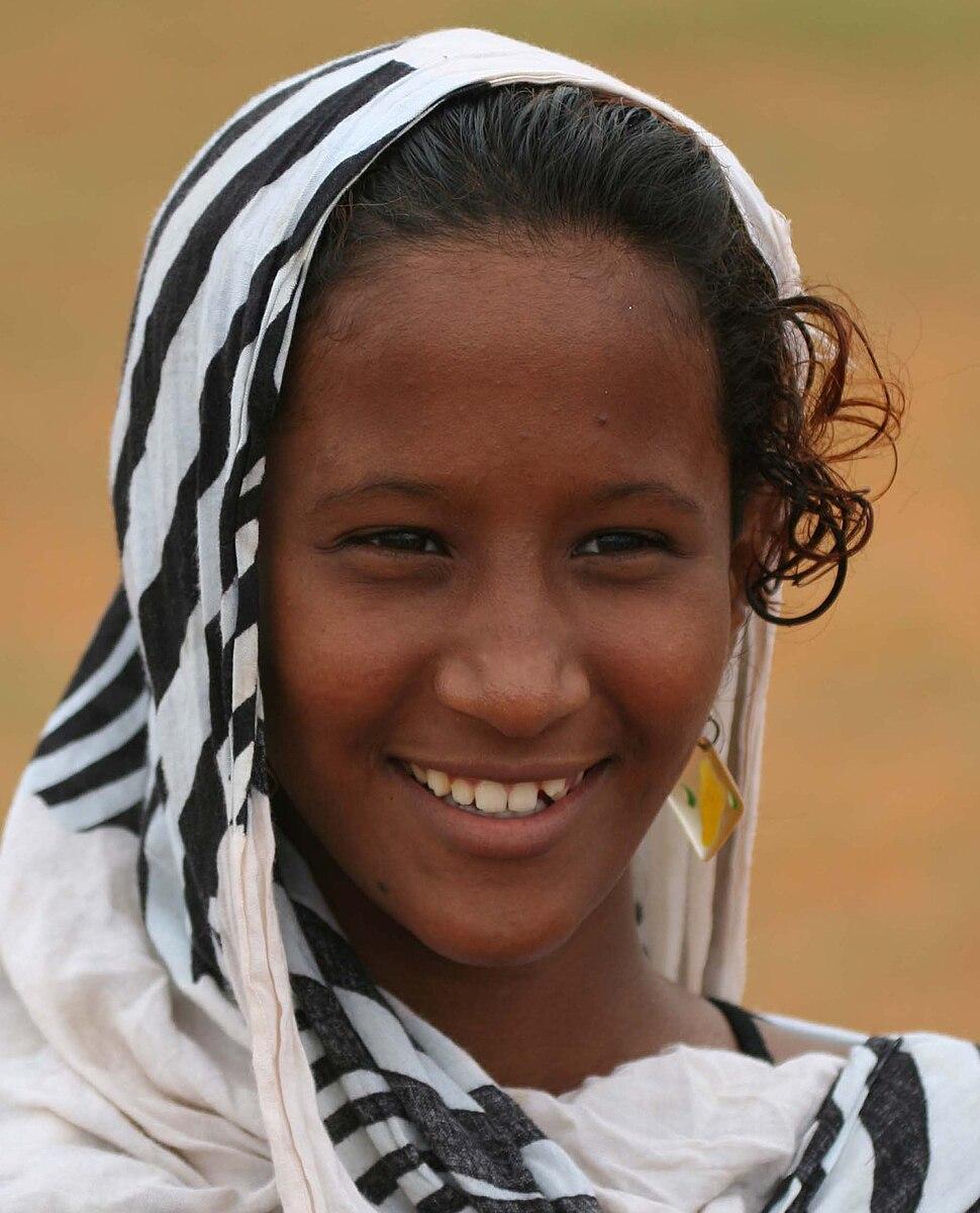 A big smile from Mauretania
