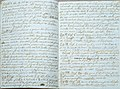 A chi legge tentativo grammatica ladina gardenese manoscritto 3 Gherdëina.jpg