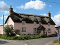 A very pink cottage on Hulkshay Lane - geograph.org.uk - 1240343.jpg
