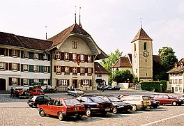 Aarberg - Town center