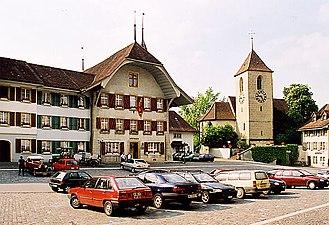 Aarberg - Statdtplatz (Town place)
