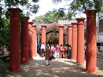 Sabarna Roy Choudhury - The Aatchala Bari remains. It was built by Laksmikanta Gangopadhyay.