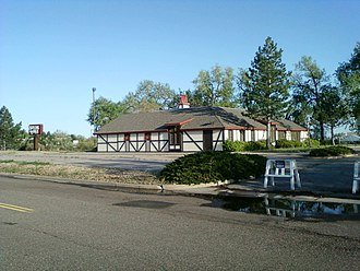 Steak and Ale - Abandoned Steak and Ale restaurant, Westminster Mall, Colorado (2011)