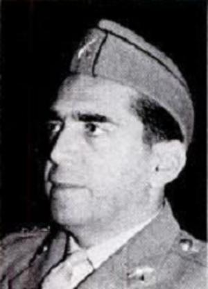 Abd al-Wahab al-Shawaf - Portrait of Colonel al-Shawaf