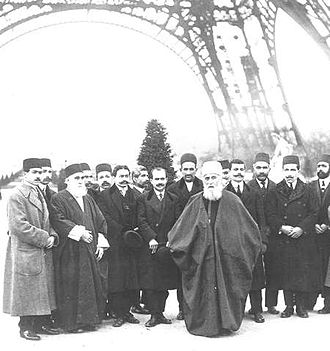 Bahá'í Faith in Europe - Image: Abdul baha in Paris