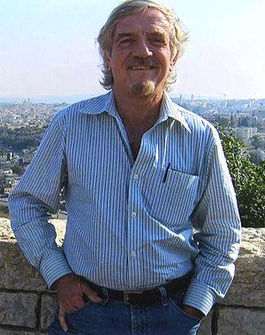 Abraham Lavender - Abraham D. Lavender in Jerusalem, May 2006