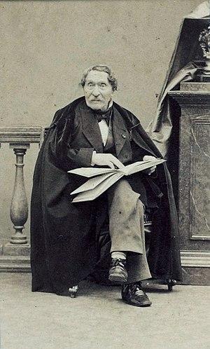 Abel de Pujol - Abel de Pujol, ca.1860. Photograph by André-Adolphe-Eugène Disdéri