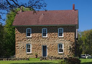National Register of Historic Places listings in Scott County, Minnesota - Image: Abraham Bisson House 2015