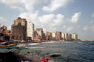 Abu Qir Place in Alexandria Governorate, Egypt