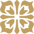 Acorn Square Ornament Gold.png