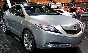 Acura ZDX - The ZDX concept