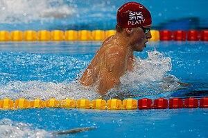 Adam Peaty - Peaty at the Rio Olympics 100m breaststroke