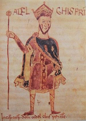 Adelchis of Benevento - Adelchis, from the 11th-century Codex legum Langobardorum