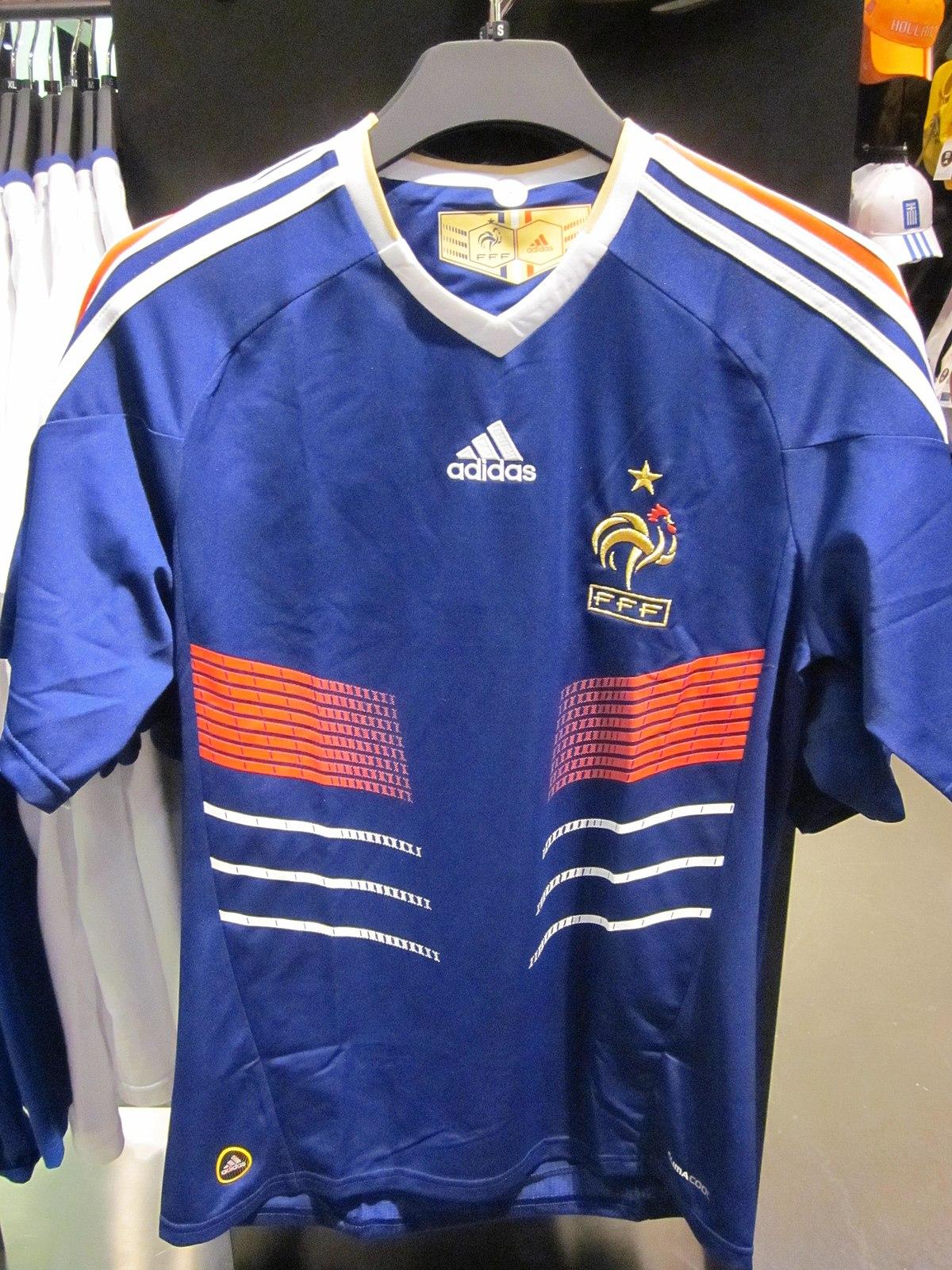 File:Adidas France national football team home jersey.JPG ...