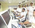 Admiral Robin K. Dhowan visiting important installations at Naval Base Kochi.jpg