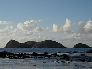 Admiralty Group - Admiralty Group of islets as seen from Ned's Beach, Lord Howe Island