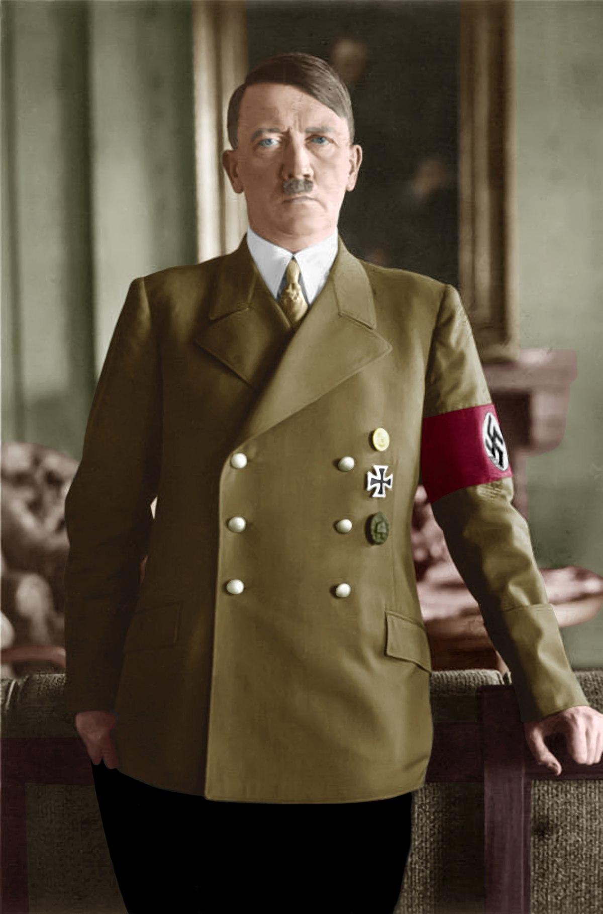德国纳粹_阿道夫·希特勒 - 维基百科,自由的百科全书