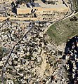 Aerial view South Wall Temple Mount City of David Kidron Valley Archeological Sites.jpg
