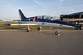 Aero Vodochody L-39C Albatros N150XX Roman86 BSY RSideFront SNF 04April2014 (14399921957).jpg