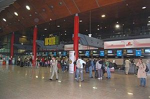 Vigo–Peinador Airport - Inside the terminal