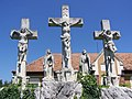 Agyagosszergény, Kálvária-szoborcsoport (3985. számú műemlék).jpg