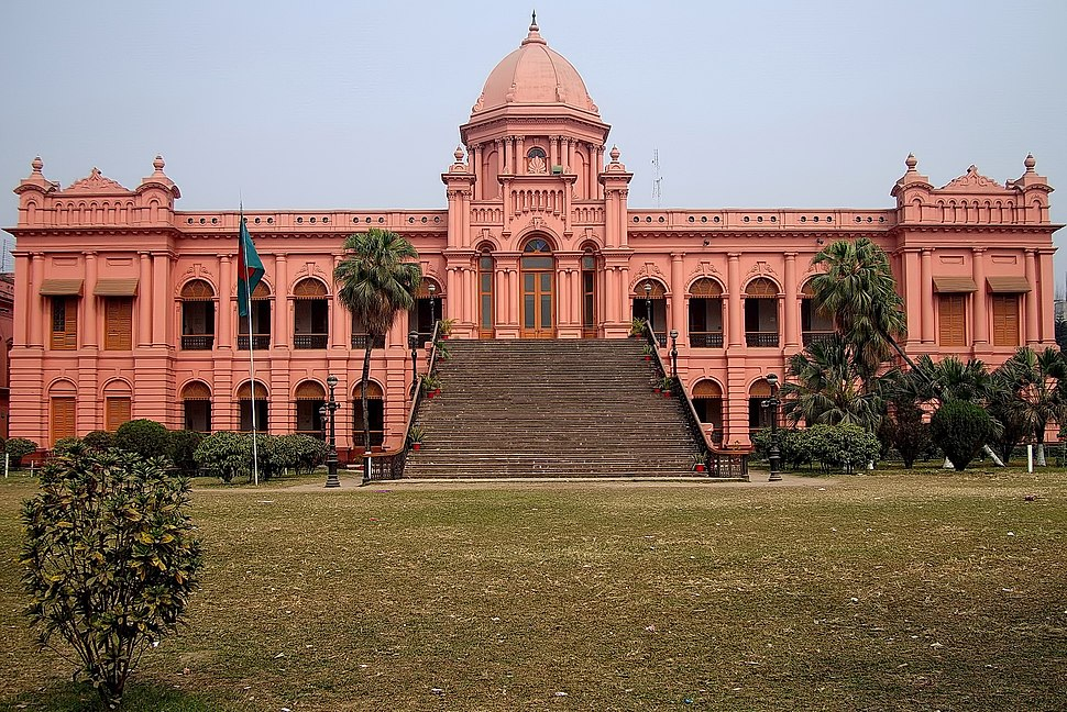 Ahsan Manzil-Front View