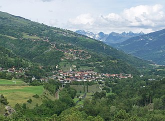 Aime-la-Plagne - A general view of Aime