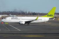 YL-BBI - B733 - Air Baltic