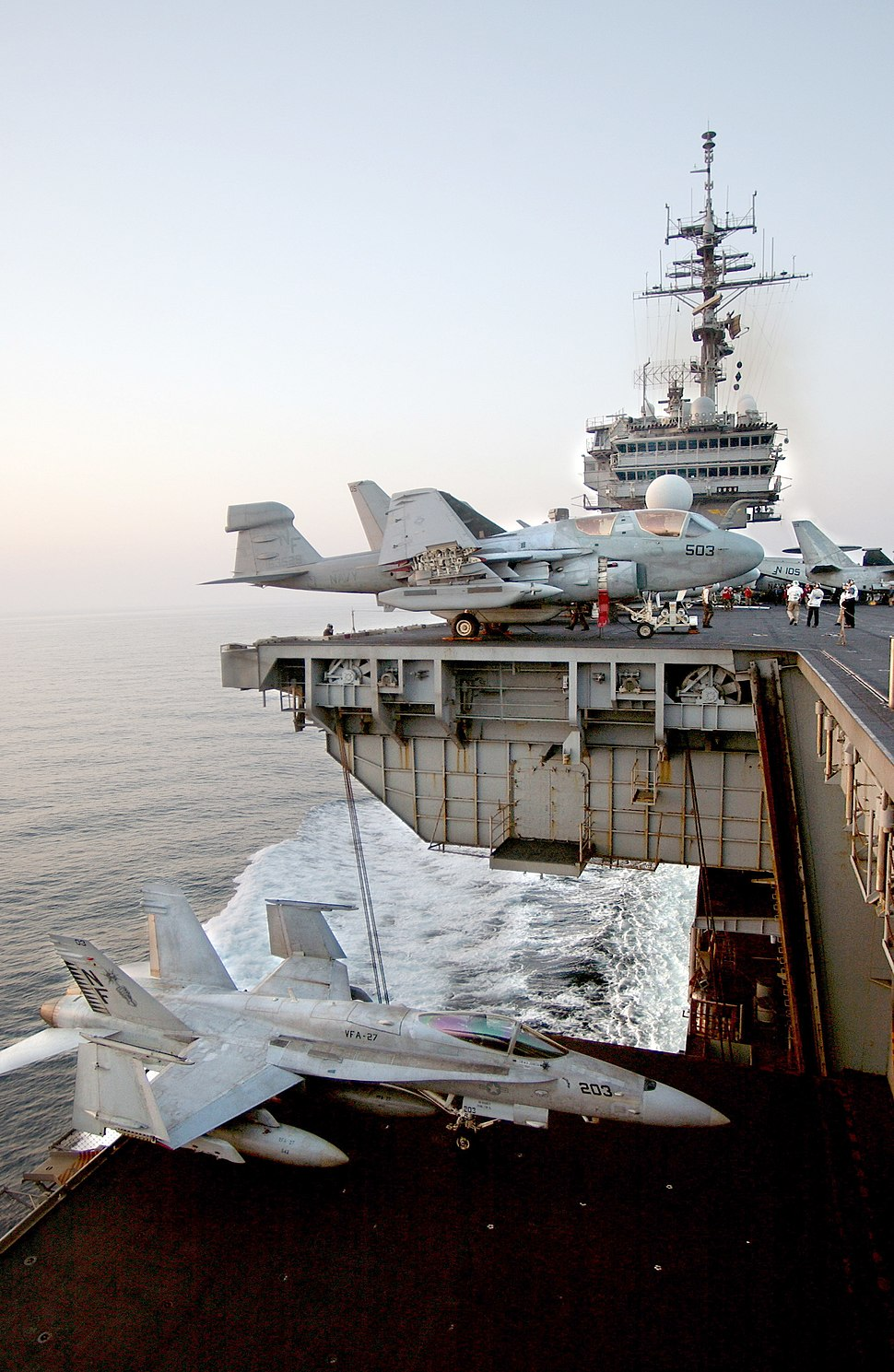 Aircraft elevator USS Kitty Hawk