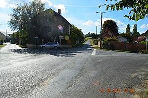 Aizelles - A street in Aizelles