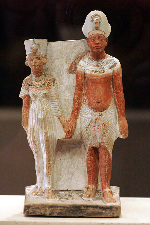 Akhenathon and Nefertiti