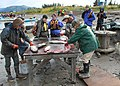 Alaska Pacific University students process salmon (00D8376C-1DD8-B71B-0BE2DC3F845128E0).JPG
