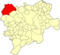 Albacete Villarrobledo Mapa municipal.png