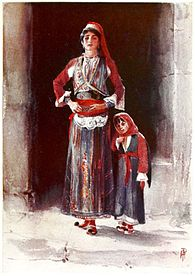 Albanian Peasants costumes