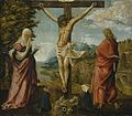 Albrecht Altdorfer - Christ on the Cross between Mary and St John - WGA00214.jpg