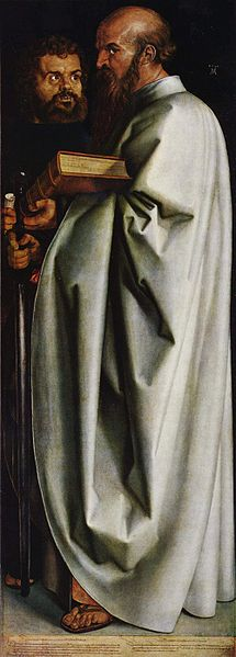 Markus and Paulus by Albrecht Dürer