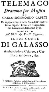 Opera by Alessandro Scarlatti