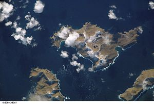 Chugul Island - NASA photo of Chugul Island