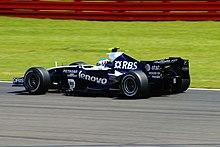 Wurz al Gran Premio di Gran Bretagna 2007 con la Williams