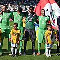 Algérie - Arménie - 20140531 - Aissa Mandi (20), Mohamed Lamine Zemmamouche (16) et Mehdi Lacen (8).jpg