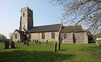 Shotesham - Image: All Saints, Shotesham, Norfolk geograph.org.uk 1279496