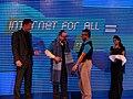 Allan Bonke, Jimmy Wales and Munir Hasan.jpg