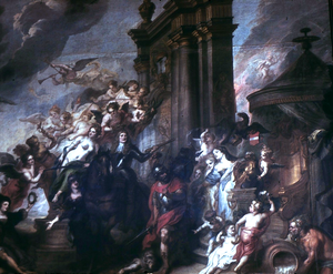 Treaty of Oliva - Allegory of the Peace of Oliwa by Theodoor van Thulden