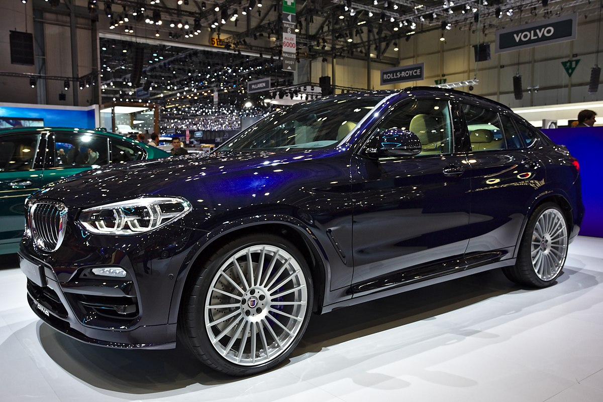 Px Alpina Xd Genf on 2018 suv crossover