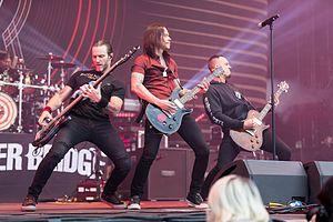 Alter Bridge bei Rock am Ring 2017