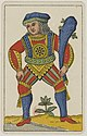 Aluette card deck - Grimaud - 1858-1890 - Jack of Clubs.jpg