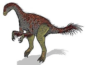 Alxasaurus - Restoration