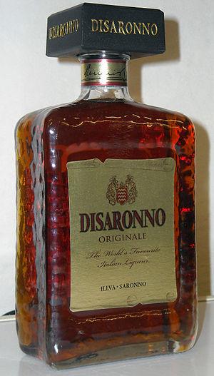 The Disaronno Originale square bottle