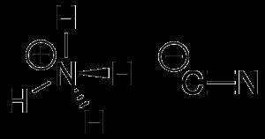 Ammonium cyanide - Image: Ammonium cyanide